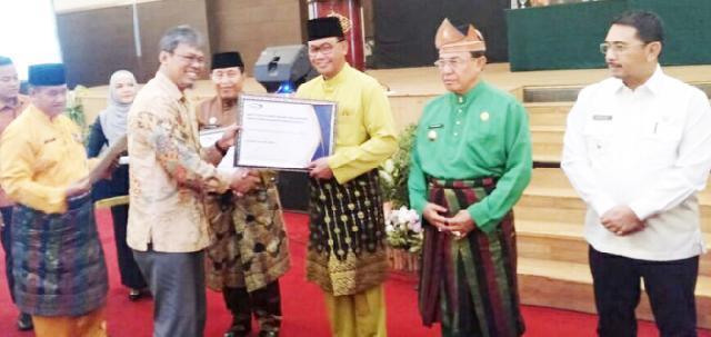 Pemkab Rohil Raih Penghargaan Kapabilitas APIP Level Tiga