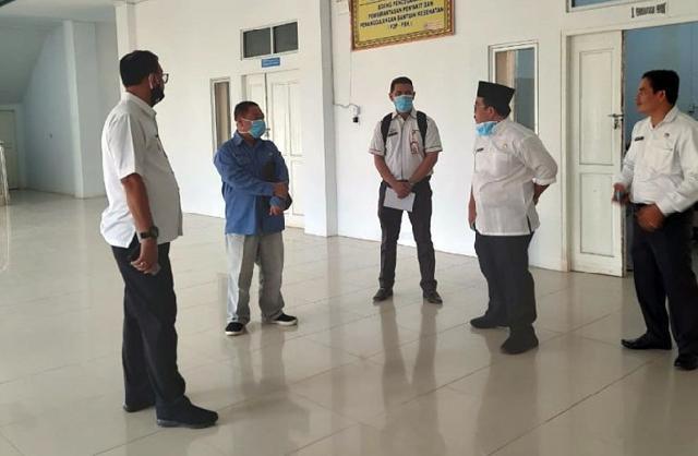 Bupati Suyatno Kunjungi Kantor Dinkes Rohil
