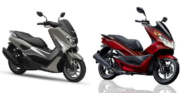 Membandingkan Sosok Yamaha NMAX dengan Honda PCX
