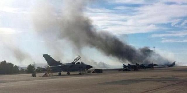 Pesawat F-16 Yunani Jatuh di Pangkalan NATO, 10 Orang Tewas