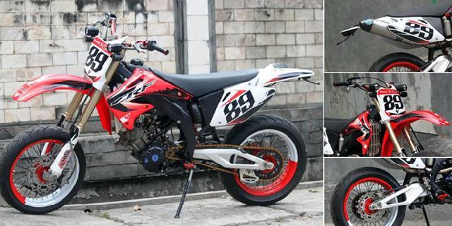 Kawin Silang Bebek Sport Yamaha dan Trail Honda
