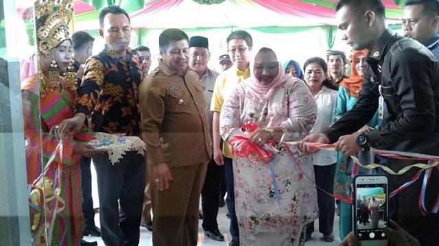 Bupati Amril Resmikan pengoperasian PKS Semunai Sawit Perkasa (SSP) di Desa Semunai